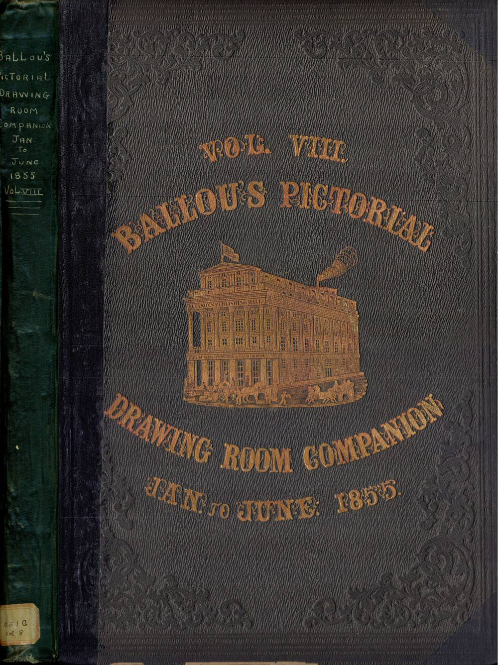 Images Ballou Pictorial Drawing Room Volume Viii Wallpaper