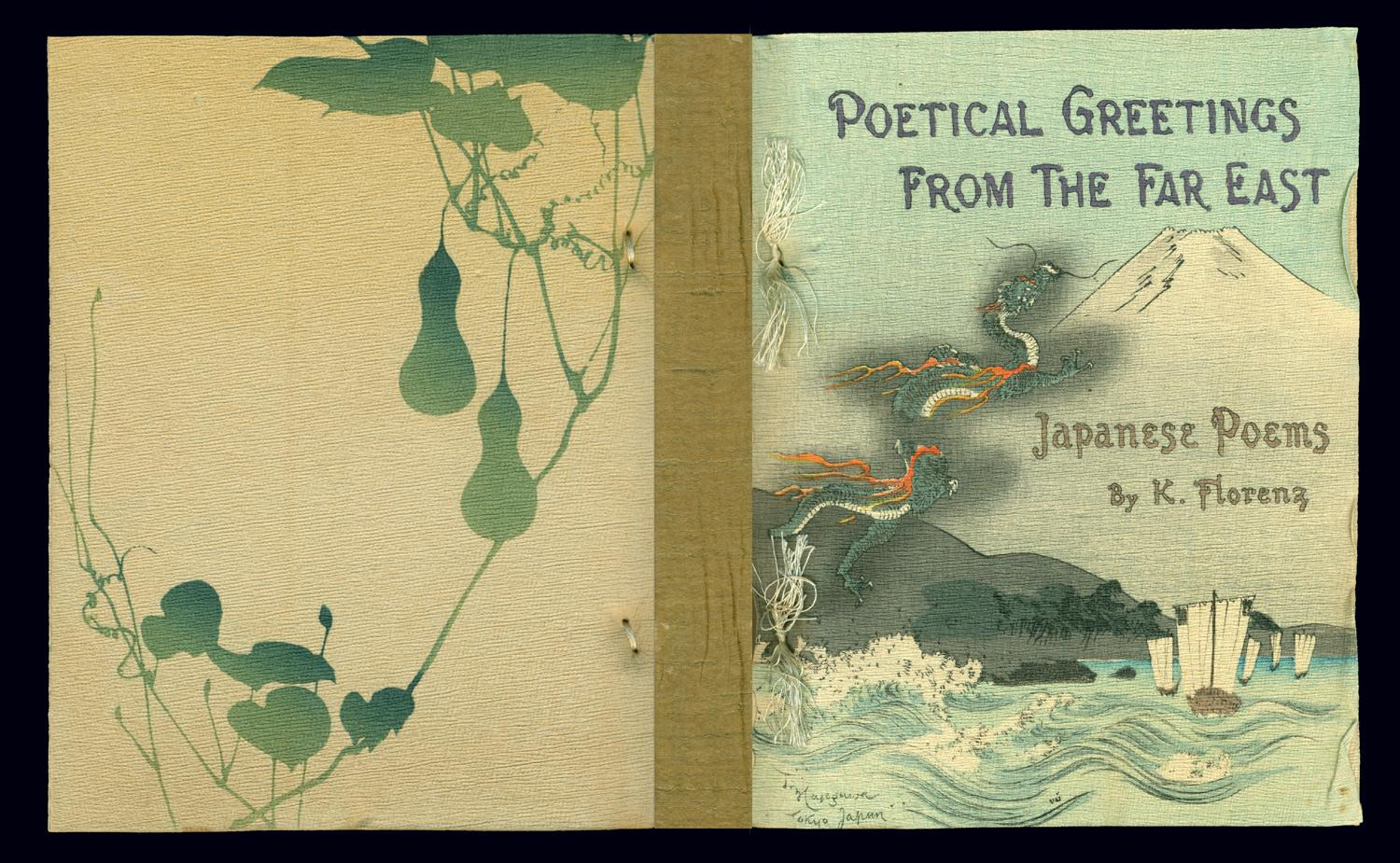 Poetical Greetings From The Far East Japanese Poems K Florenz