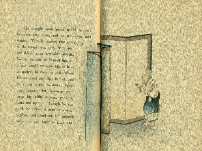 The Boy Who Drew Cats, Japanese Fairy Tale, Books ...